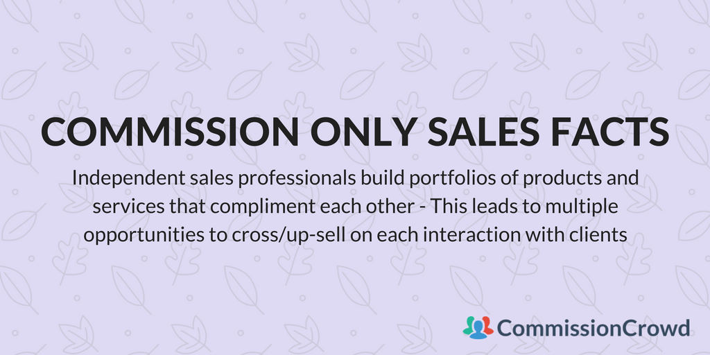 how to find commission only sales