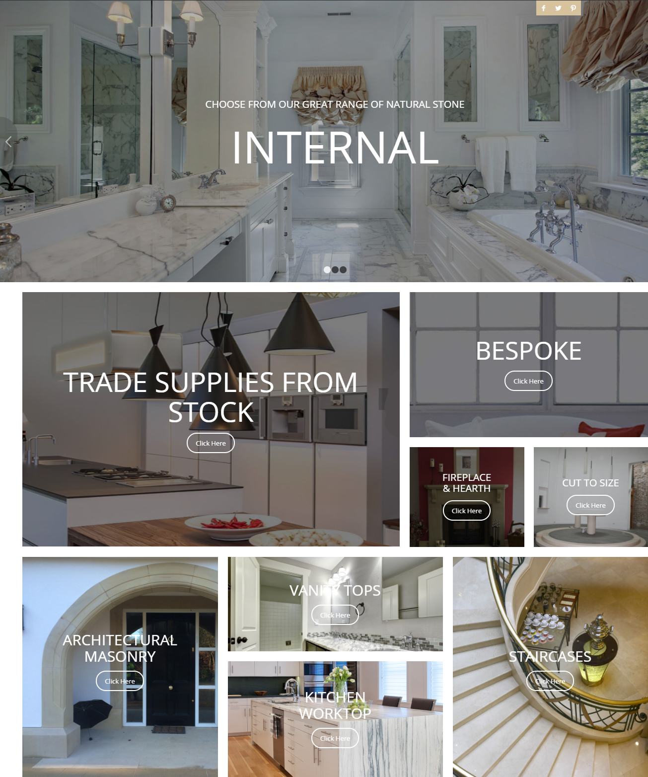 natural stone UK independent manufacturers rep sales opportunity