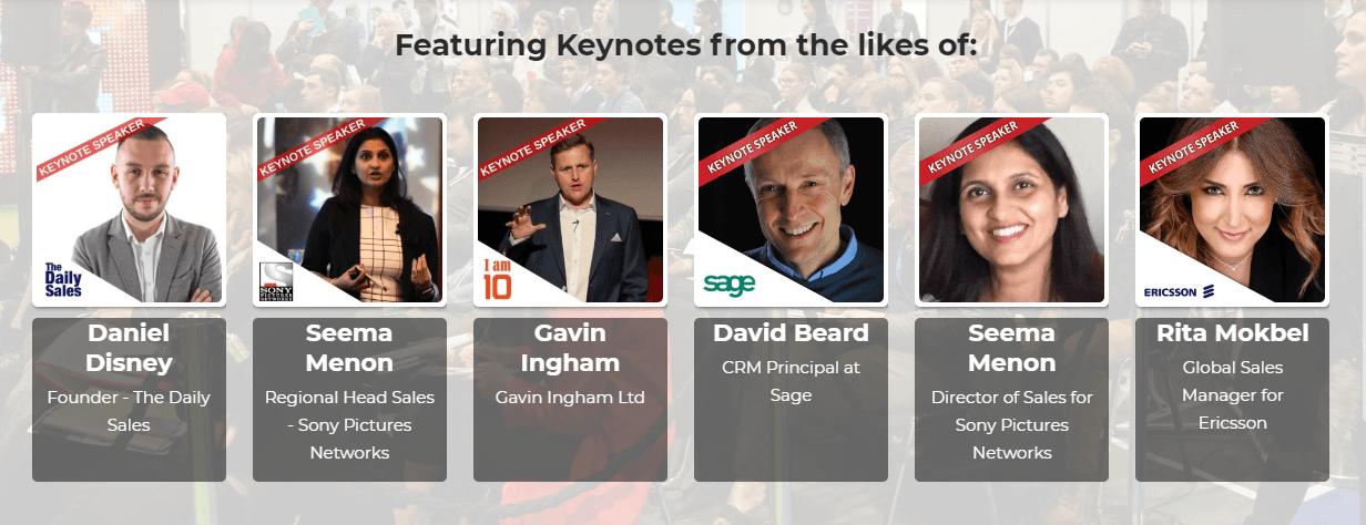 sales innovation keynote speakers