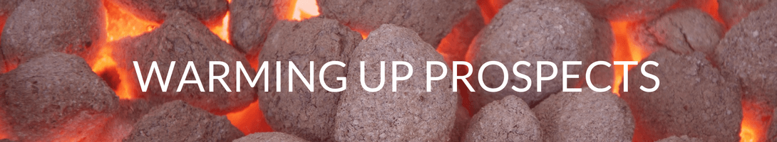 warming up sales prospects